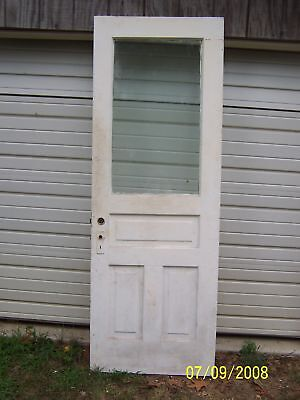 EXTERIOR ANTIQUE WOOD DOOR 30  x 83