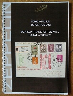 Graff Zeppelin Tarnsported Mail Related To Turkey Collec Catalog Turkish English