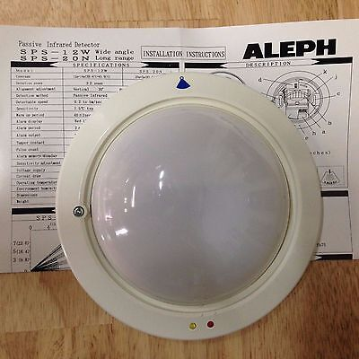 Aleph Passive Infrared Detector SPS-12W/20N