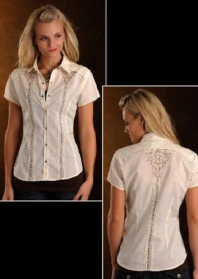Style: 23S4444-PHS SOLID WITH EMBROIDERY - LADIES SS  ULTIMA!!!!!!!!