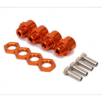 M12 12mm To M17 17mm Wheel Hex Hub Adapter Conversion Adapter RC 1:10 Off-Road