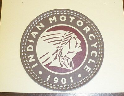 Indian Motorcycle Headdress Leather Patch (2863987) NEW