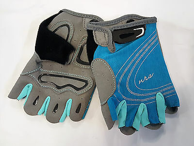 Women's NRS Axiom Gloves 3/4 Finger Kayak Paddling Stretch Nylon UPF20+ S,M,L,XL