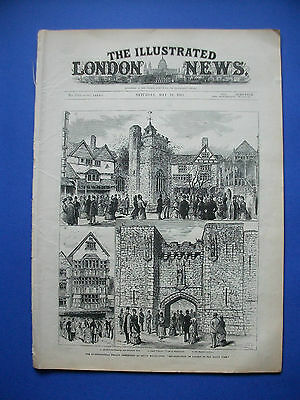 The illustrated London News 10. Mai 1884, May 10, painters France, Slavery Sudan