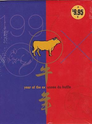 """Canada Post 1997 *year Of The Ox* Booklet Set Mint """"year Of The Ox"""