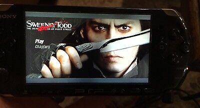 RARE REGION ALL Johnny Depp SWEENEY TODD PSP UMD MOVIE, WILL WORK IN USA PSP