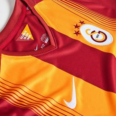 Galatasaray - Nike Official Shirt 2014 - With The Turkish Coat Of Arms For Sew