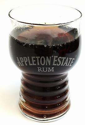 Set of 2 Rare & Exquisite Appleton Estate Rum Glasses