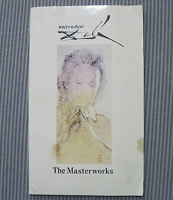 Vintage Salvador DALI The MASTERWORKS 1971 First Edition Museum ART Book SURREAL