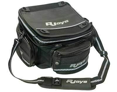 RJays SB6 Elite Tail Bag motorcycle Luggage Black