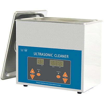 Sc  Professional Ultrasonic Cleaner 3L Digital With Heating Ss Basket And Cover