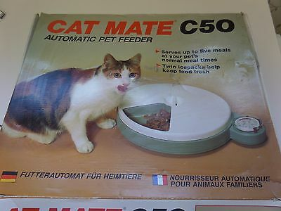Cat Mate C50 Automatic Pet Feeder.