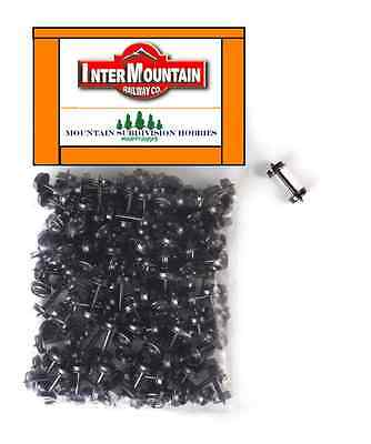"InterMountain 40055 33"" HO 100 pk Metal Wheel sets wheelset    MODELRRSUPPLY-com"