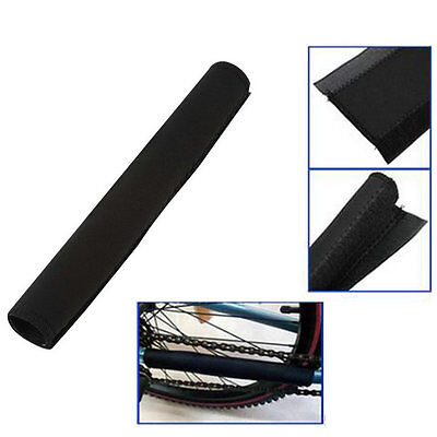 2pcs Bike Bicycle Cycling Chain Frame Protector Tube Wrap Cover Guard E5