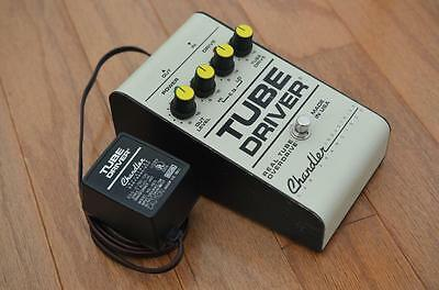 Chandler Tube Driver Vintage Overdrive Guitar Effects Pedal - David Gilmour