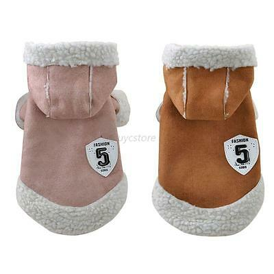 Pet Dog Jacket Clothes Puppy Cats Winter Warm Sweater Coat Clothing Apparel