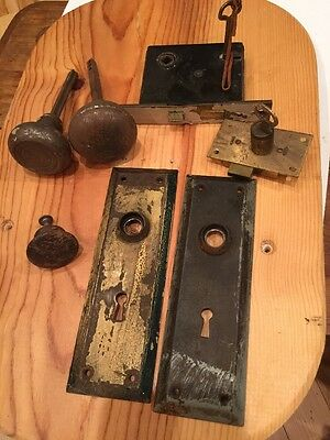 Antique Door Hardware. Misc. Lot.