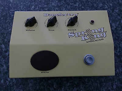 Danelectro Spring King Reverb Guitar Effects Pedal