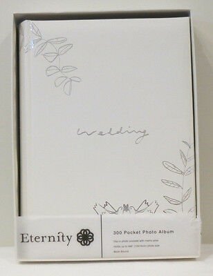 Eternity 300 Pocket Wedding Photo Album With Memo Area In Gift Box (RRP $ 59.95)