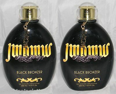 Lot Of 2 Jwoww Black Celebrity Bronzer Lotion + Free Shipping + Free Goggles