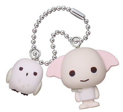 DOBBY and HEDWIG Harry Potter Mascot collection Japanese Figure Key Chain