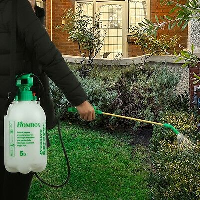 Portable  Hand Spray  Pressure Sprayer Garden Cleaning Water Chemical 5L
