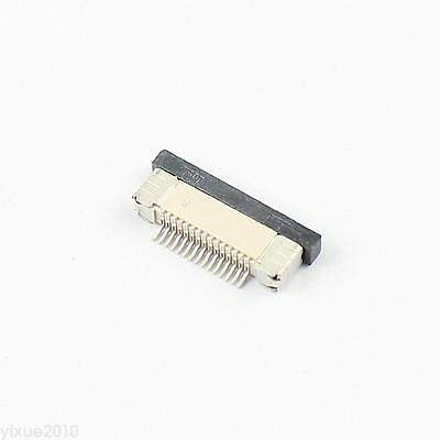 10Pcs FPC FFC 0.5mm Pitch 15 Pin Drawer Type Flat Cable Connector Bottom Contact