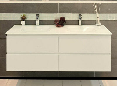 VANITY BATHROOM 1200mm Wall Mount UNIT WITH FREE FAUCET New