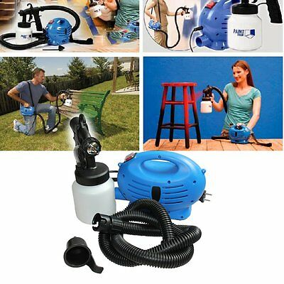 New Zoom Spray Gun System Electric Paint Sprayer Painting for Fence Bricks