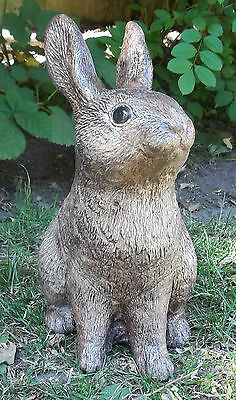 Rabbit / Bunny stone Ornament - Garden / Home  Remembrance - Keepsake - Gift