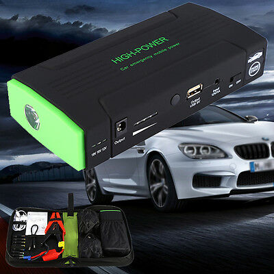 30000mAh Portable USB Power Bank 12V Car Jump Starter Battery Charger Booster AU