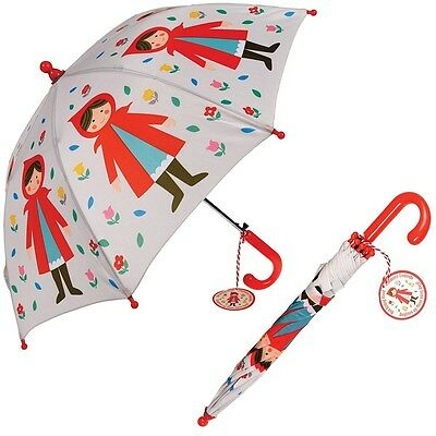 dotcomgiftshop CHILDRENS UMBRELLA RED RIDING HOOD. KIDS GIRLS BOYS BROLLY