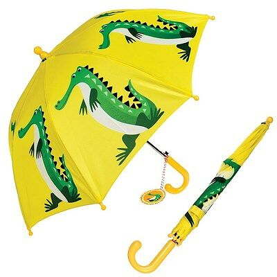 dotcomgiftshop CHILDRENS UMBRELLA CROCODILE DESIGN. KIDS GIRLS BOYS BROLLY