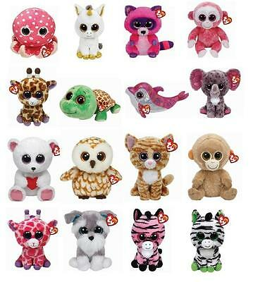 Cute Ty Beanie Boos 6 inch Plush Soft Toy Choose from a large selection