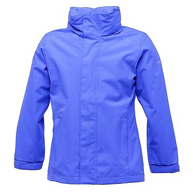 Regatta Greenhill Boys Girls Waterproof Windproof Hooded Jacket Age 7-8 years