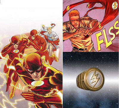 THE FLASH - Ring - COSTUME RING- DC Comics - Barry Allen