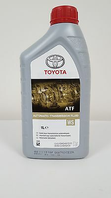 Genuine Toyota Atf Automatic Transmission Oil Ws 1 Litre 08886-81210