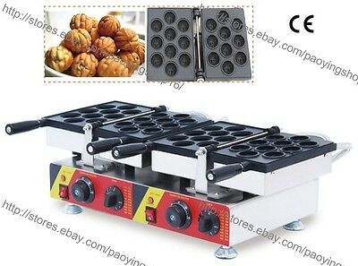 Commercial Nonstick Electric 20pc Oreshki Walnut Waffle Machine Maker Iron Baker