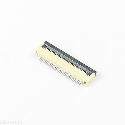 5Pcs FPC FFC 0.5mm Pitch 32 Pin Flip Type Flat Cable Connector Bottom Contact