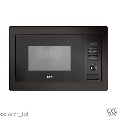 CDA VM230BL Built in Microwave With Grill - Black 11752
