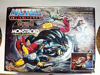 Masters Del Universo #2418 - Monstroid - Moc- Motu - Spanish - New- Sealed