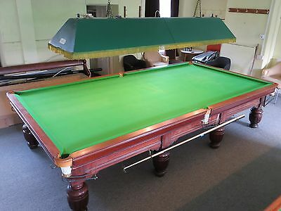 Full size antique snooker table