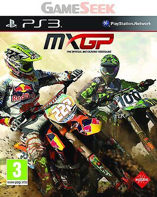 Mxgp - The Official Motocross Videogame - Playstation Ps3 Brand New