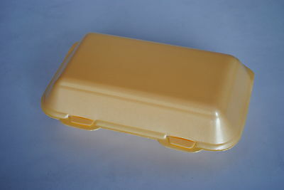 250 x Large Polystyrene Fish & Chip Boxes (TWIN TAB) FAST FOOD TAKEAWAY (0101/2)