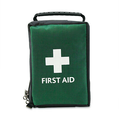 Vehicle / Travel / Holiday / Car First Aid Kit in Soft Bag with Carry Handle