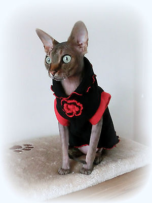 ELEGANT adult, Sphynx cat clothes, sweater for a cat, Nacktkatze, pet clothes