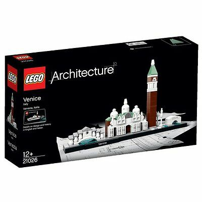 LEGO Architecture Venice Skyline Mixed Kids Construction Building Toy NEW