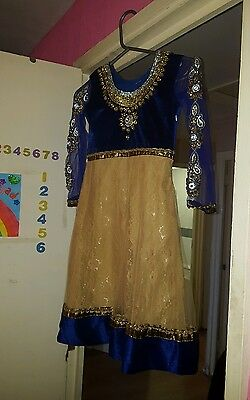 Girls anarkali dress size 28