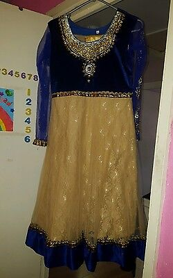 Girls anarkali dress size 34