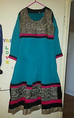 Girls/ladies anarkali dress size 44 large